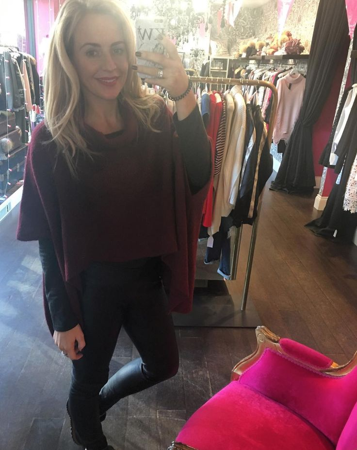 LAST ONE! Only 1 left! Evelyn Maroon jumper £59! https://www.havetolove.com/collections/knitwear/products/evelyn-maroon-polar-neck-wing-jumper #last #one #jumper #fashion #trend #love #havetolove #style