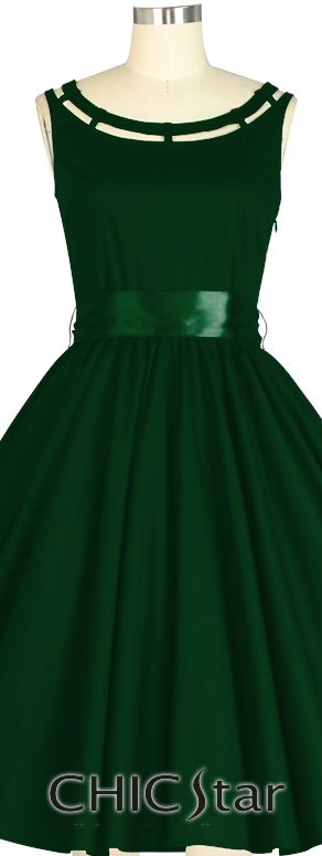 Retro 1950s Dress |Chic Star design by Amber Middaugh