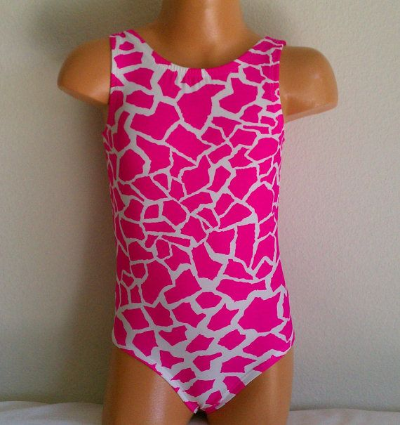 Another great leotard for Little Gym!  Keyhole Back Gymnastics Leotard Girls and Toddler by KaiKayLeos, $20.50