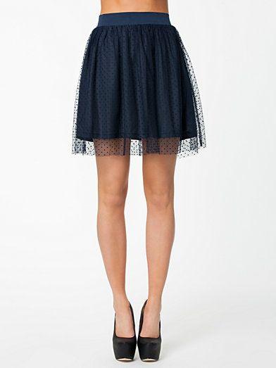 Dot Skirt - Vila - Eclipse - Kjolar - Kläder - Kvinna - Nelly.com