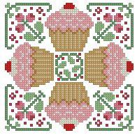 The Floss Box   Biscornu 375 Pdf pattern