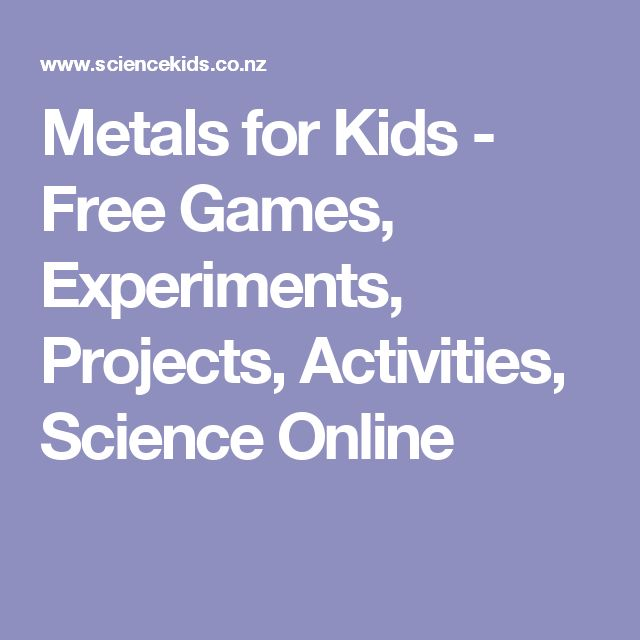 39 best amcm story book of science term 1 images on pinterest ant metals for kids free games experiments projects activities science online fandeluxe Gallery