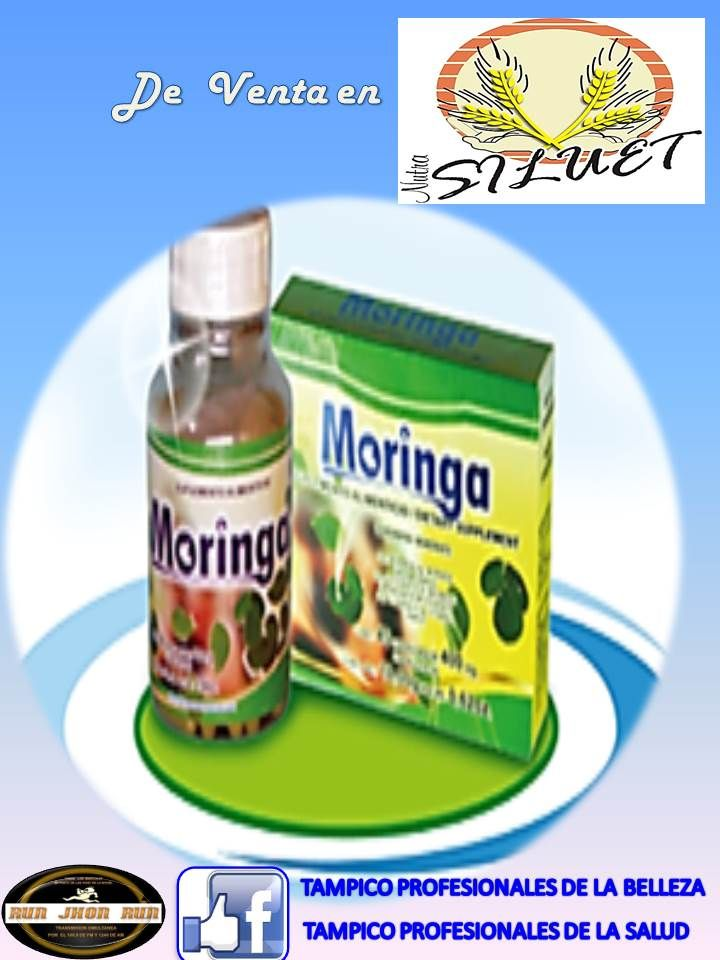 productos naturistas de #tampico tónico,cápsula,extracto de moringa de venta en nutra silueta heb