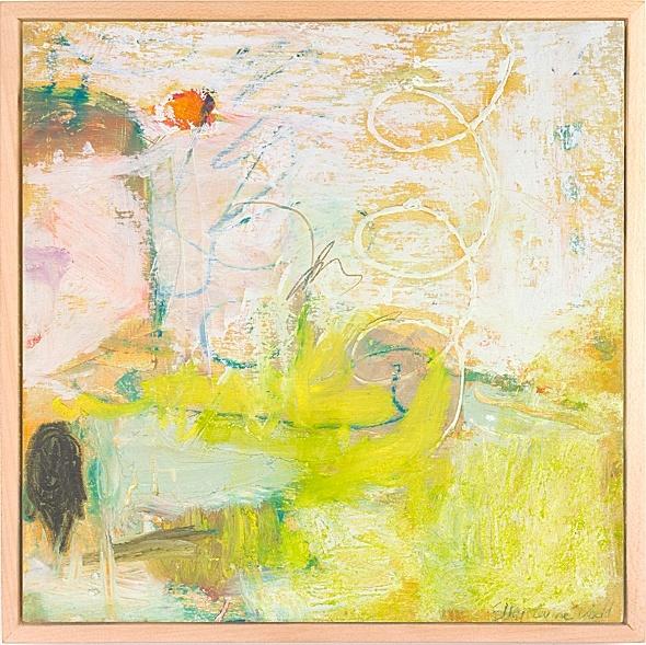 """Wanderings #9-Wetlands"" by Ellen Levine Dodd"