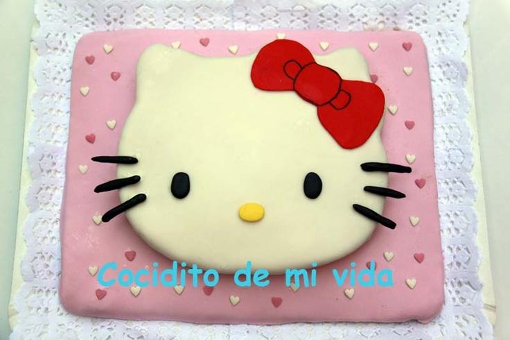 Cocidito de mi vida: Tarta Hello Kitty 2