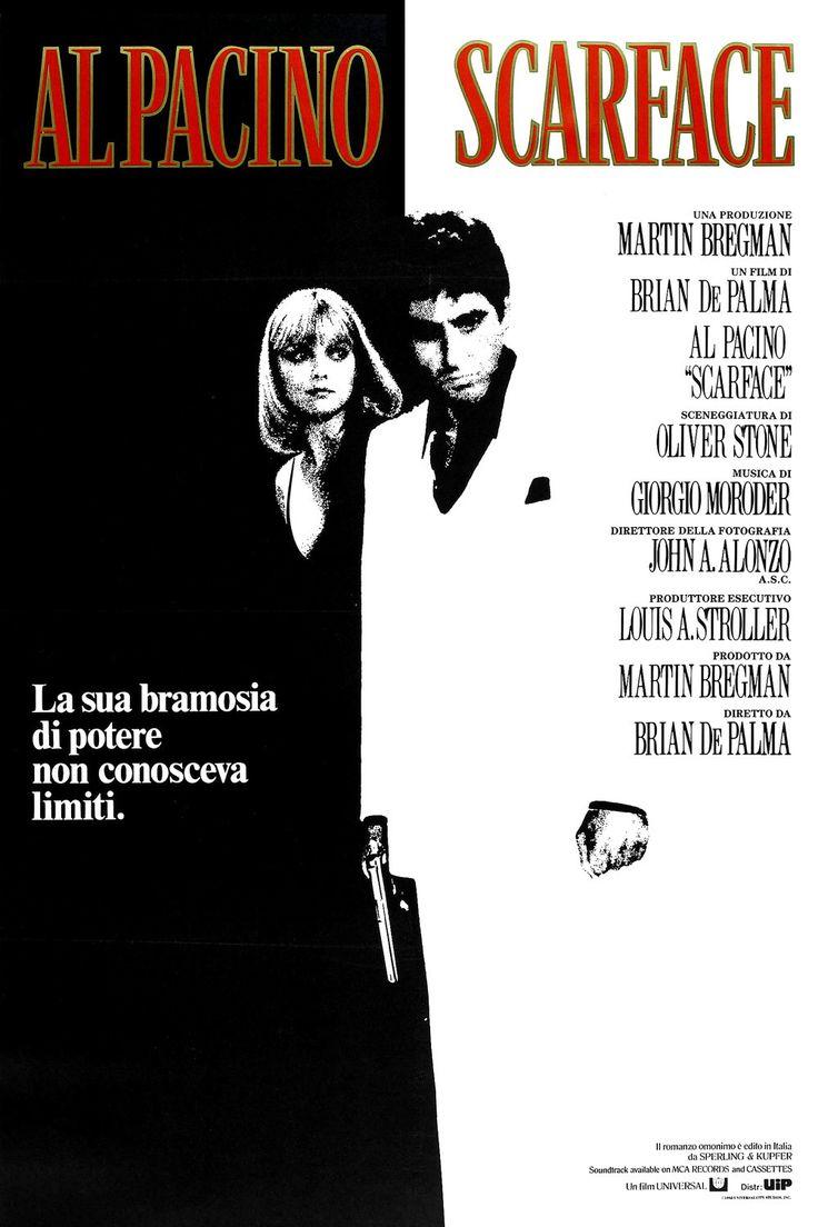 Scarface, film completo drammatico del 1983 in streaming HD gratis in italiano, guarda online a 1080p e fai download in alta definizione.