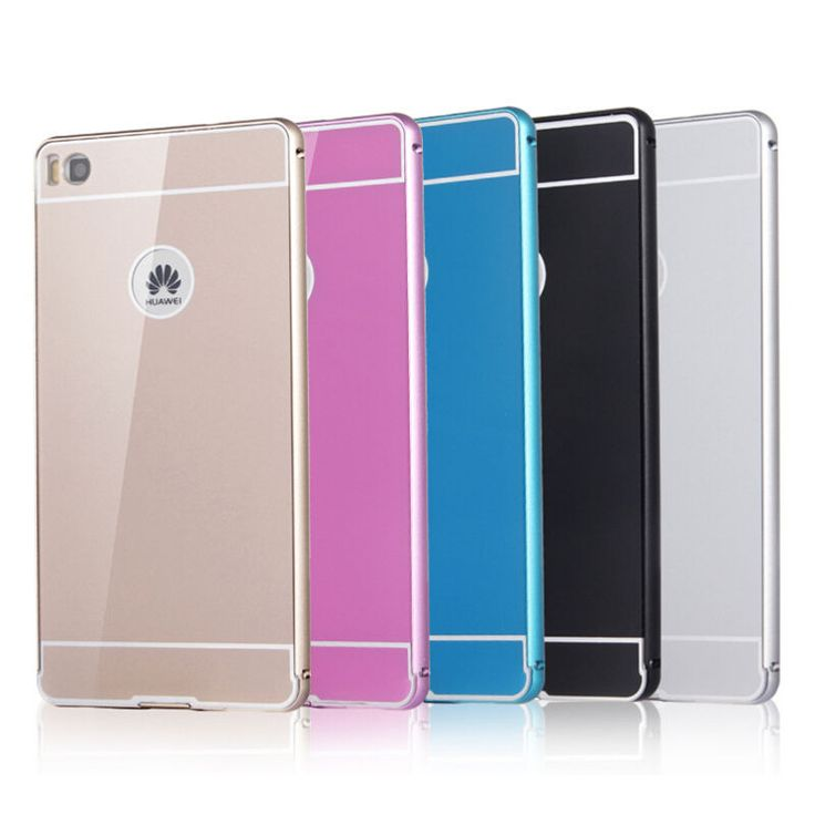 Aluminium Metal Bumper Case+ PC Acrylic Back Cover For HUAWEI Ascend P8/ P8 Lite #UnbrandedGeneric