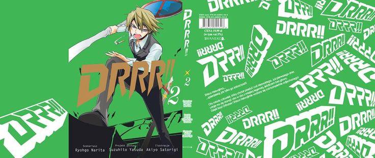 Durarara!! # 2 premiera 6 kwietnia 2015.