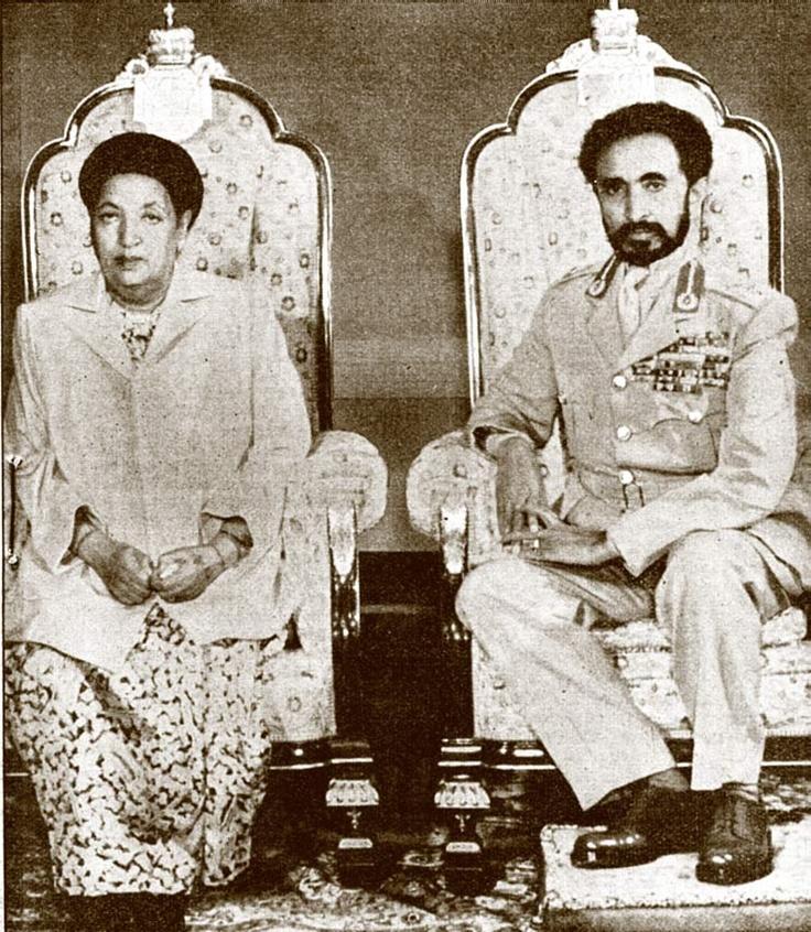 Emperor Haile Selassie and Empress Menen, One Perfect Love