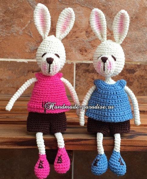 483 besten Crochet - Rabbits ! Bilder auf Pinterest   Amigurumi ...