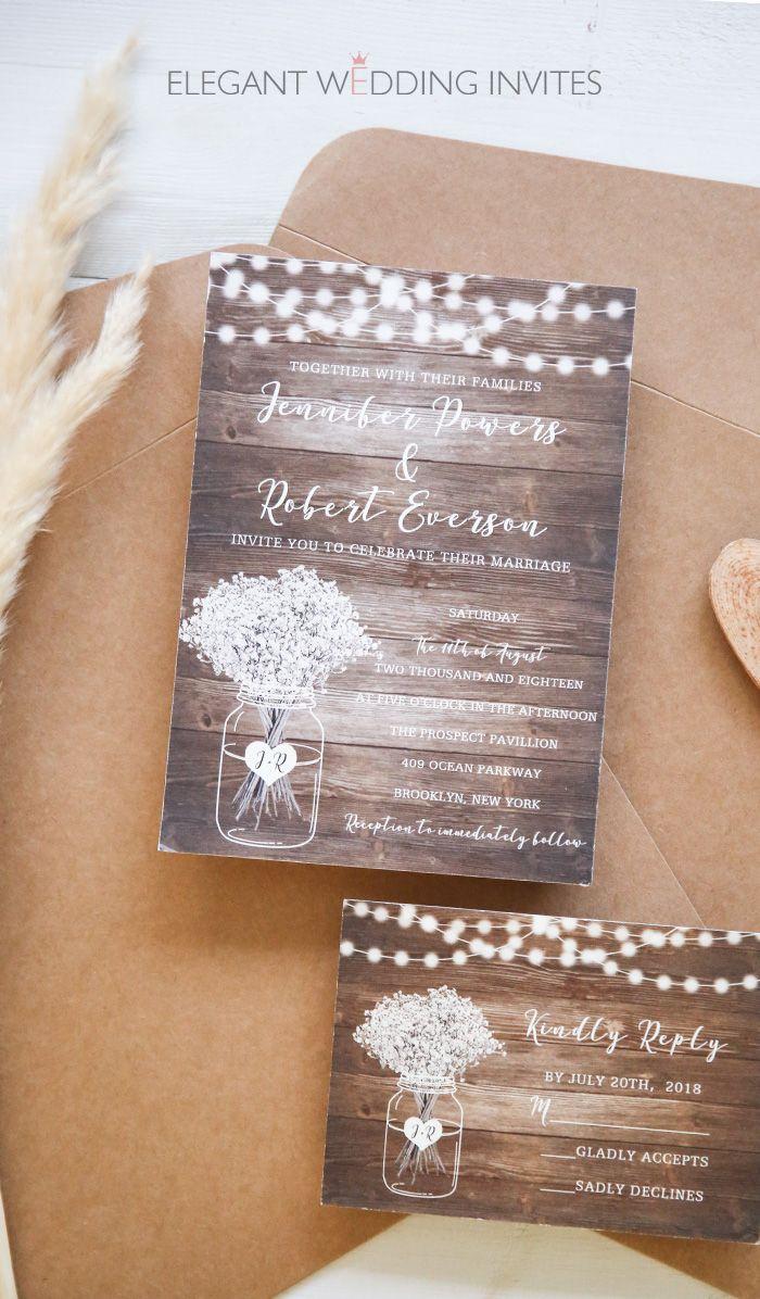 Moody Boho Chic Wedding Ideas With Matching Floral Wedding Invites Elegantweddinginvites Com Blog Country Wedding Invitations Rustic Wedding Invitation Card Wedding Invitations Rustic Vintage
