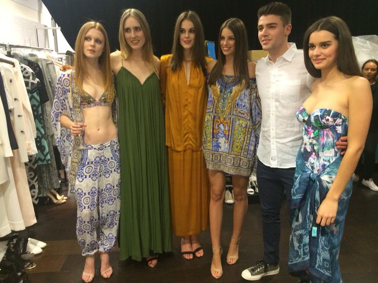 David Jones SS15 launch.  06/08/15 Stylist: Styled By Us And Them  Models: Liv, Bailey, Annaleise, Sarah, Jake and Evelyn