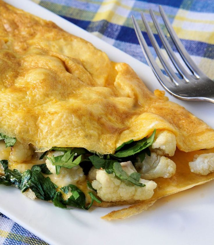 This omelette is perfect for brunch, but substantial enough to serve for…