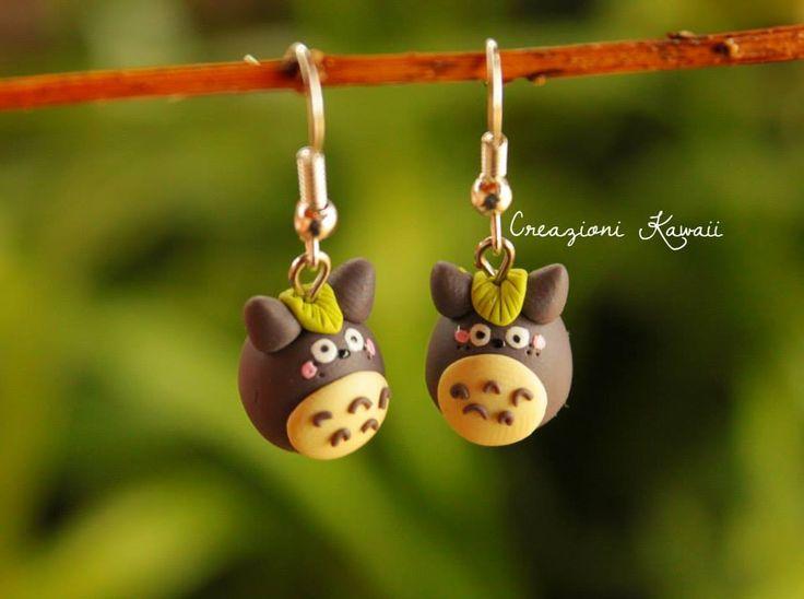 Totoro Earrings