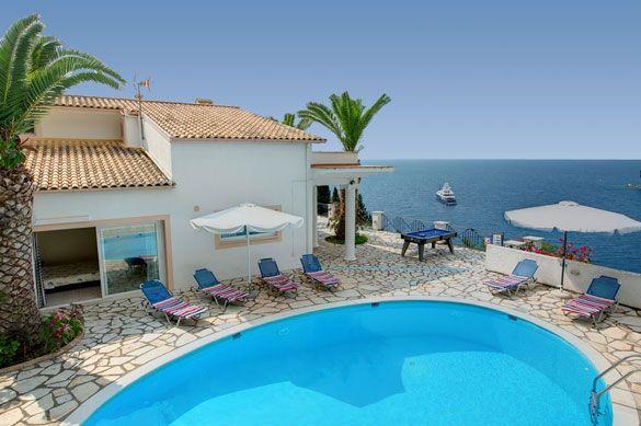Villa Mary Lou, Kalami, Corfu, Greece. Find more at www.villaplus.com