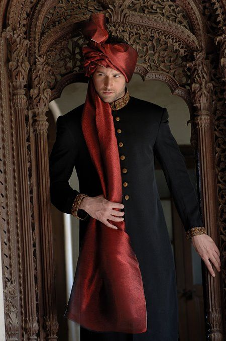 Pakistani groom attire