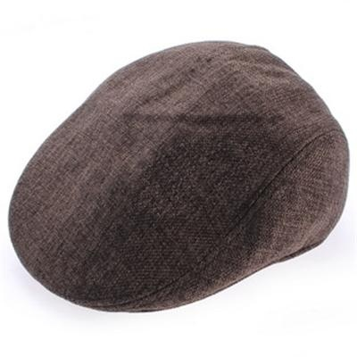 Cotton Linen Fashion Men's Peaked Caps: Cheap Online Sale - HatSells.com