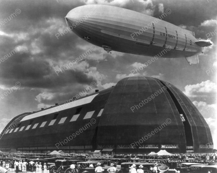 Click HERE to see my other auctions U.S. Navy Zeppelin Docking In Akron Ohio 8x10 Reprint Of Old Photo U.S. Navy Zeppelin Docking In Akron Ohio 8x10 Reprint Of Old Photo Here is a classic collectible