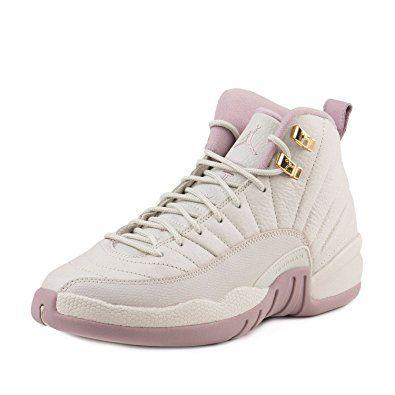 super popular 7e6d6 f5d74 Nike Air Jordan 12 Retro Prem HC GG, Zapatillas de Baloncesto Para Mujer,  Beige
