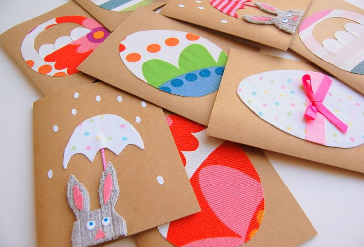 DIY- Adorable Easy Easter Cards !