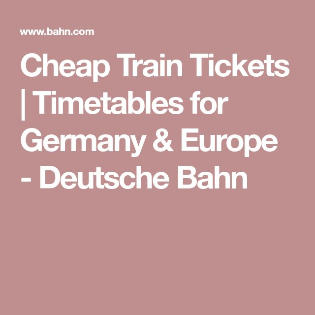 how to get cheap train tickets