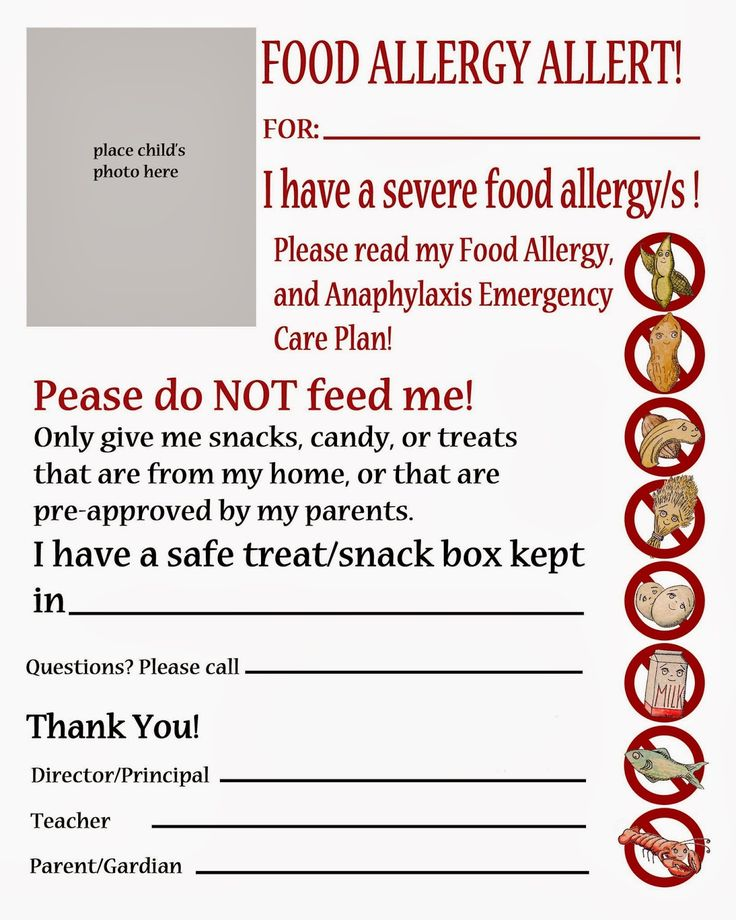 175 best Food AllergiesAllergiesAsthma images on Pinterest Food - sample asthma action plan