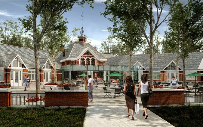 Central Park's Historic Tavern on the Green is Getting a Modern Glass Cube Concession Area