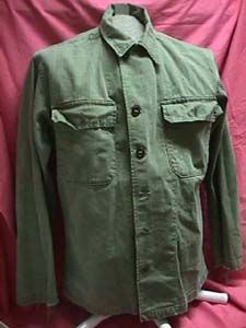 WW2 US Army fatigues shirt