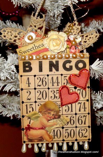 Valentine Bingo Card - Scrapbook.com