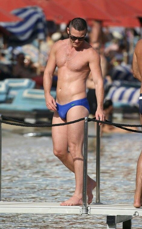 Luke Evans. The only man ever to look good in a speedo.
