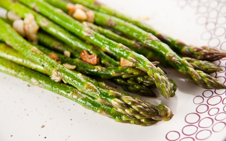 Directions 1. Combine all ingredients and sauté in nonstick pan over medium heat for 5 minutes. Do not over cook, asparagus flavor is best when crisp. Health Benefits Asparagine is a popular amino acid found in asparagus juice. The distinct smell observed in the urine of individuals who have consumed asparagus (I think it smells…