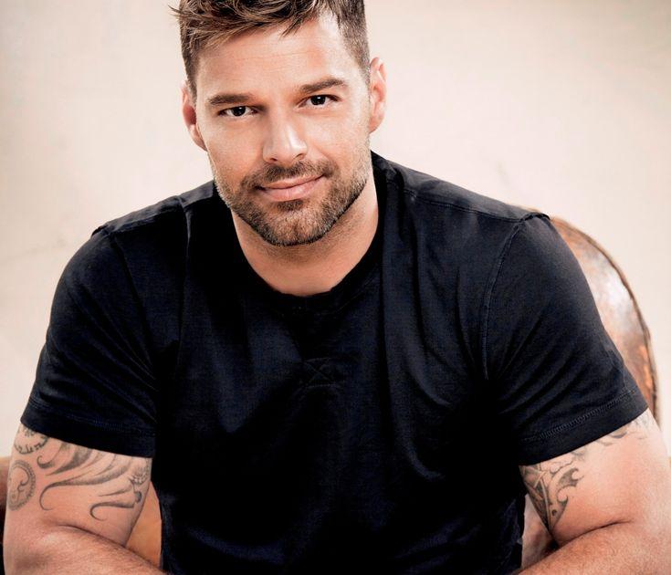 La belle gueule de Ricky Martin