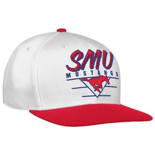 NCAA Men's White Snapback Hat ( White/Red, OSFA) adidas. $11.50. Save 42%!