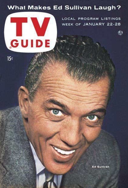 TV Guide, January 22, 1955 - Ed Sullivan