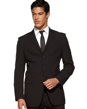 Clic Black Mens Wedding Suit