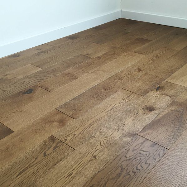 Abbey Croxton Smoke Stained Oak 15mm Brushed Matt Lacquer Click Engineered Flooring