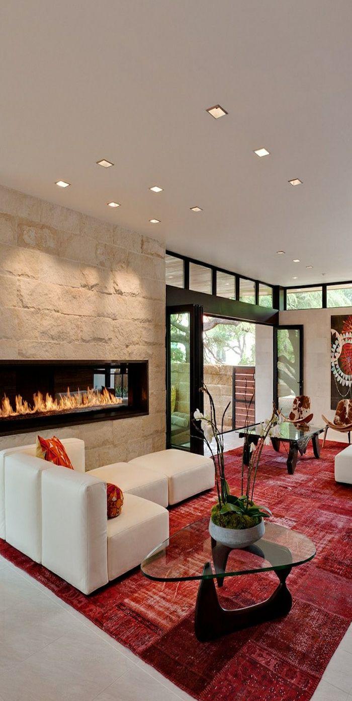 Grand Aménager La Maison Dans La Gamme De La Couleur Carmin! | Deco | Wall Decor,  Decor Et Foyer