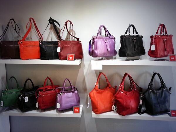 Purses sales. Check out Leatheropia at 109 Lakeshore Rd East, Port Credit, ON.