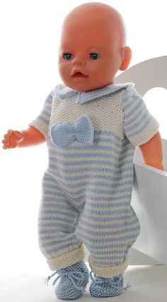 poppenkleertjes breien voor baby born