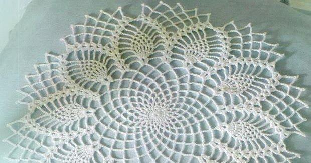 Crochet Art: Crochet Pattern Of Nice Doily
