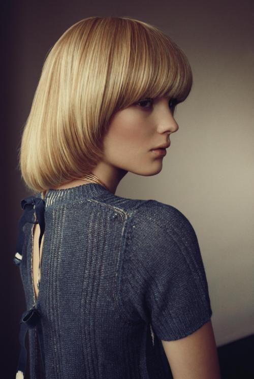 Model: Clara Zapffe   Photographer: Dennis Stenild - 'Stille Forårsdag' for Eurowoman, March 2011