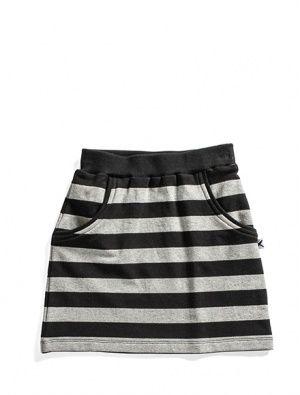 Buy Minti Street Skirt Black/Grey