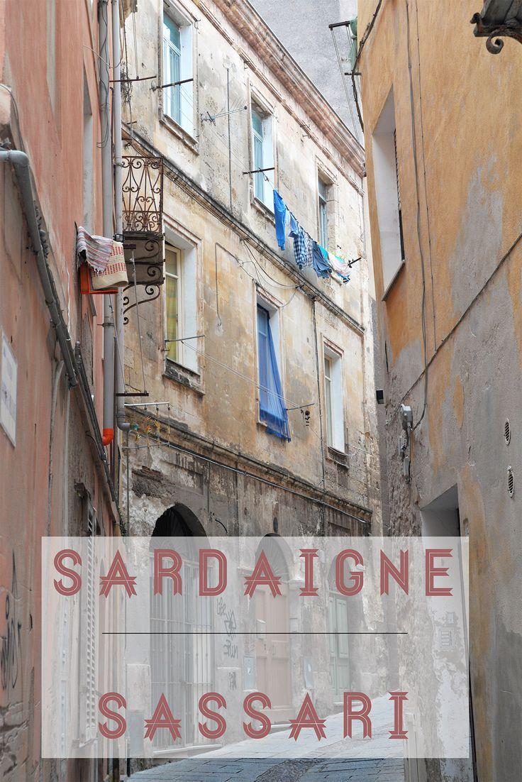 Tomber sous le charme de la jolie Sassari en Sardaigne ... #voyagercpartager