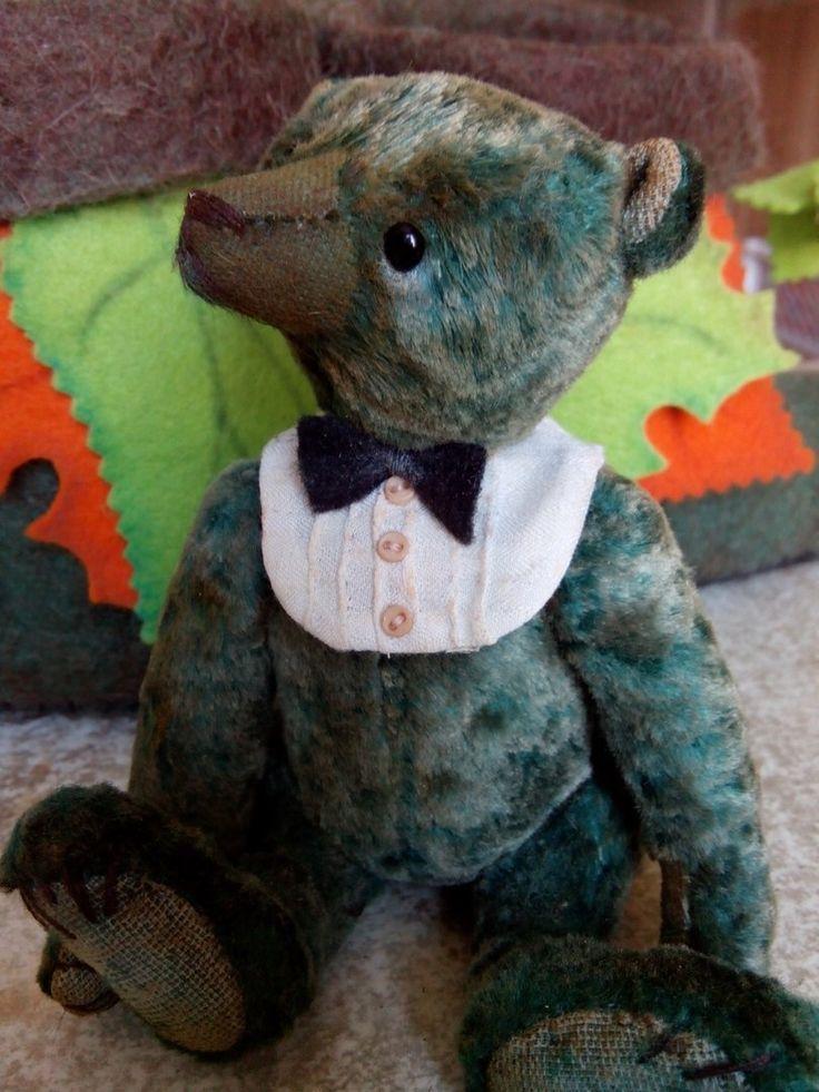 Медвежонок по имени Майкл.Рост малыша 14 см (Куклы и игрушки Елены Сусловой)