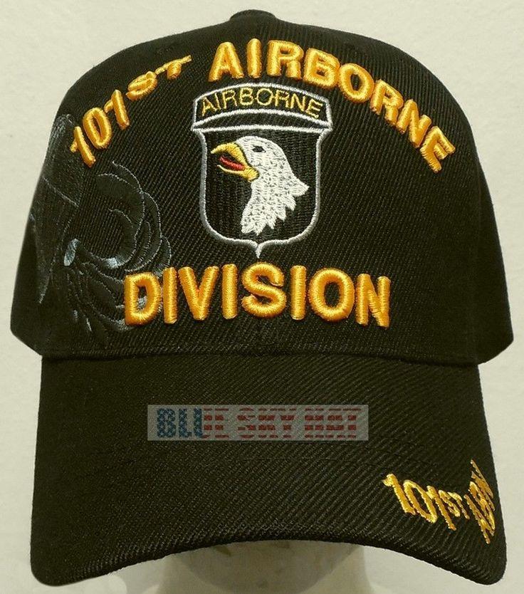 U.S. ARMY SCREAMING EAGLE 101ST AIRBORNE DIVISION AIR ASSAULT PARACHUTE CAP HAT #HIGHPREMIUMHATS #BaseballCap