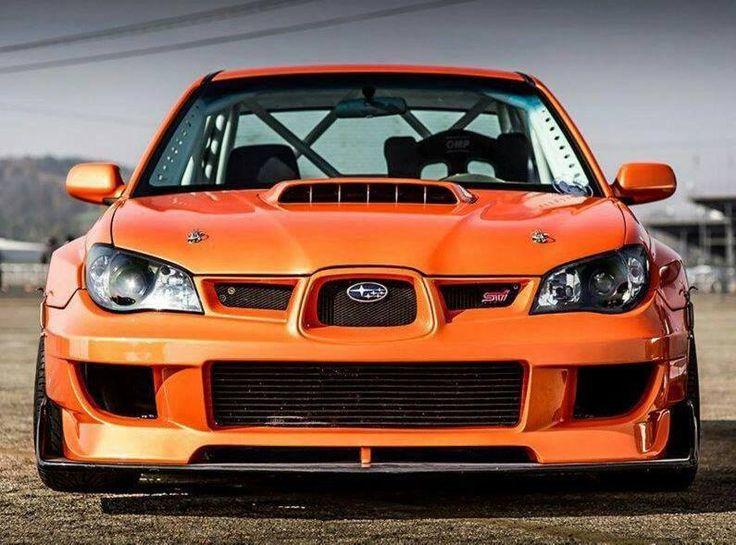 Race ready Subaru Impreza WRX STI