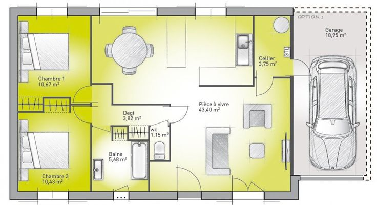 Perfect Plans De Maison à Construire : Accesso Terrazza 78 2 De Maisons Evolution, 3