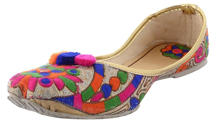 6E Women's Leather Mojaris: Buy Online at Low Prices in India - Amazon.in
