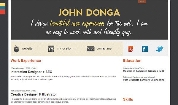 Wordpress Resume Theme 66 Best WordPress Themes Images On Pinterest  Role Models Template .