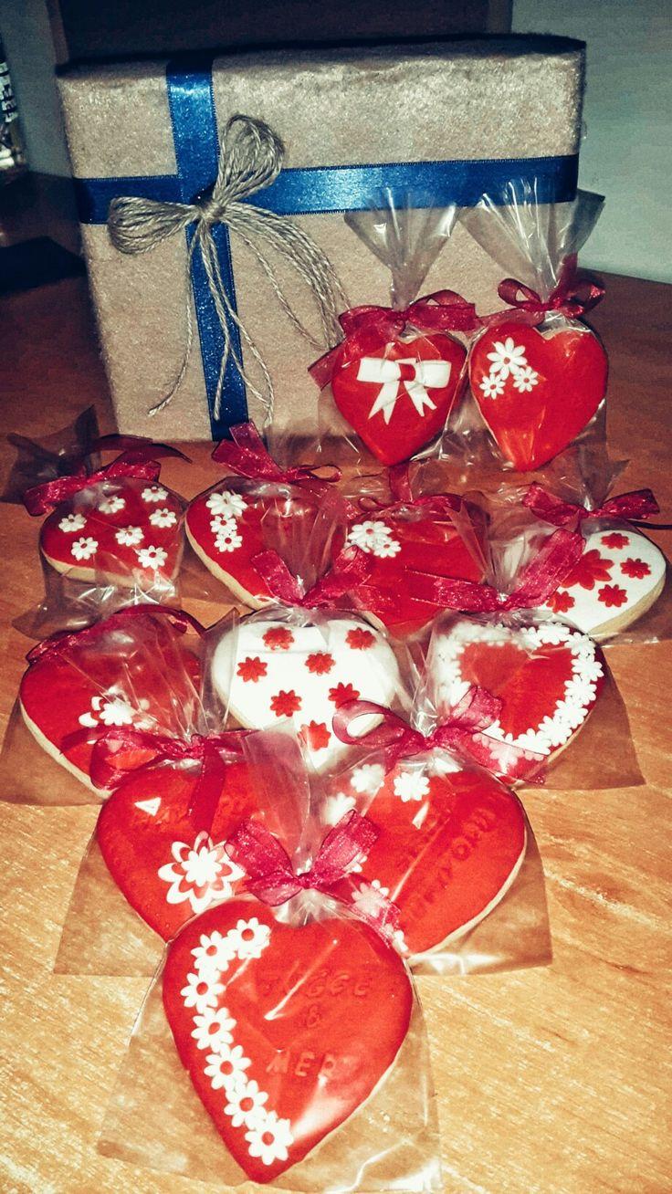 Sevgililer günü kurabiyeleri #el #yapımı #kutu #kurabiye #sevgili  #2017 #love